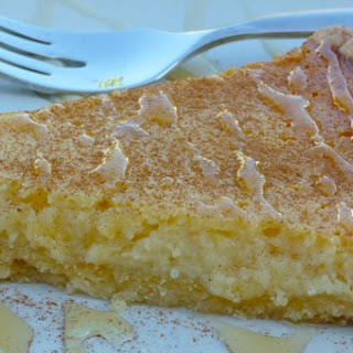 Melopita (Greek Honey Pie) .  Photo © Lynn Livanos Athan
