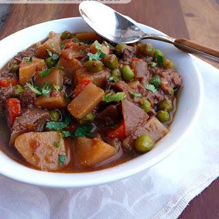 Slow Cooker Drunken Irish Stew.