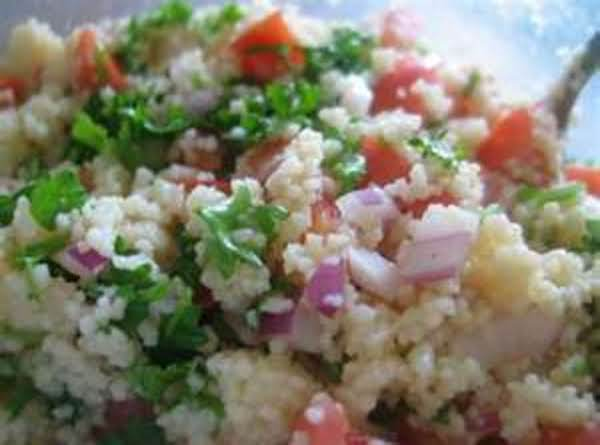 Tomato Tabbouleh Salad  / For Vegans Recipe