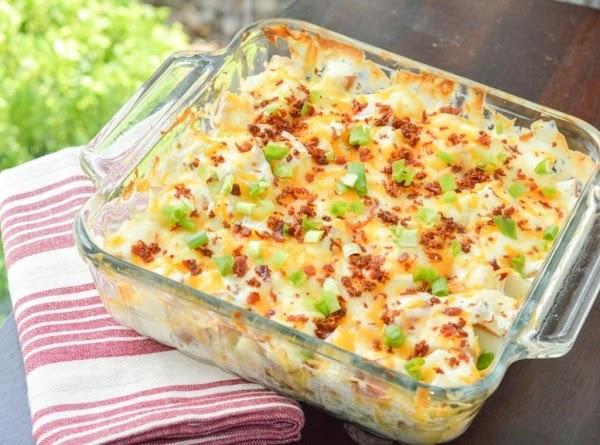 Cheesy Ranch Loaded Potato Casserole Recipe