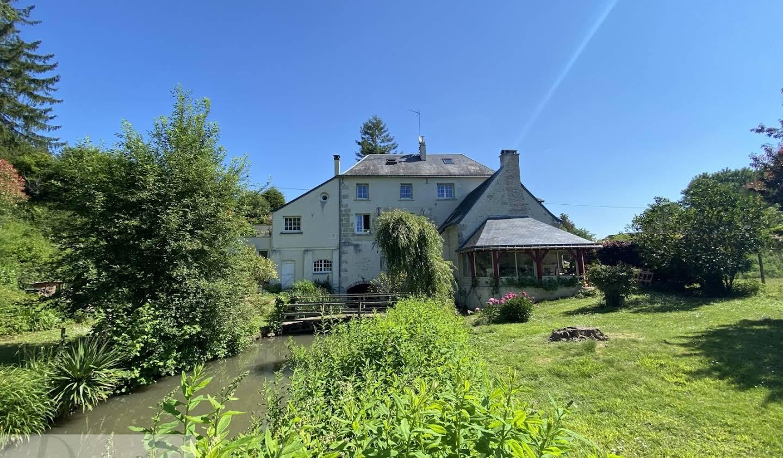 Maison avec terrasse Les Hermites