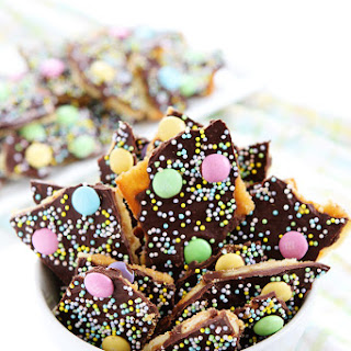 Easter Saltine Toffee