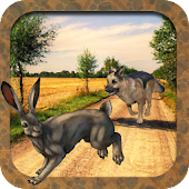 Dog Chase Rabbit Hunt Endless