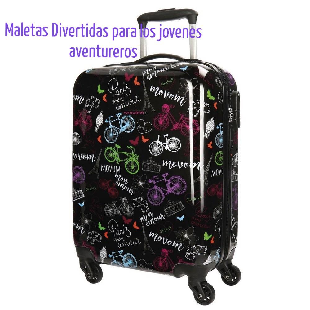 Fit 26-28 Suitcase Maddys Home Protector de Maleta Divertida de Dibujos Animados para Equipaje de 23-32 Pulgadas City, L