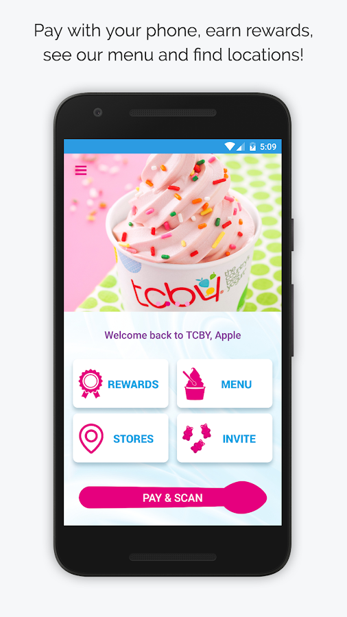 TCBY- screenshot