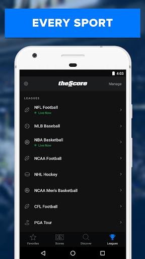 theScore: Live Sports News, Scores, Stats & Videos 6.5.2 screenshots 5