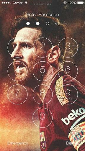 Lionel Messi Lock Screen HD for PC