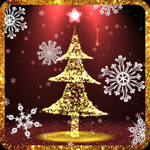 Christmas tree 3D live wallpaper HD