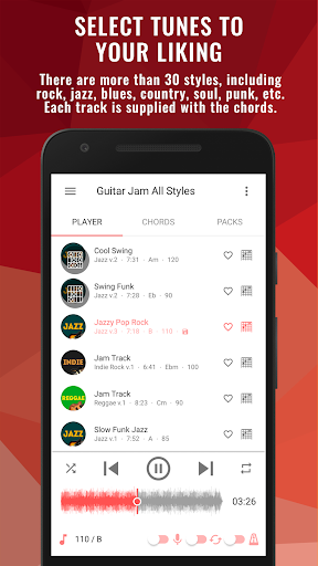 Backing Tracks Guitar Jam Play Music by Super Ear Soft