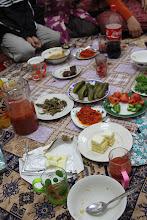 Photo: Turkmėniškos vaišės.  Turkmenian hospitality.