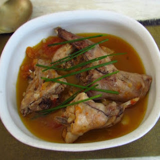 Rabbit in Tomato Sauce Recipe