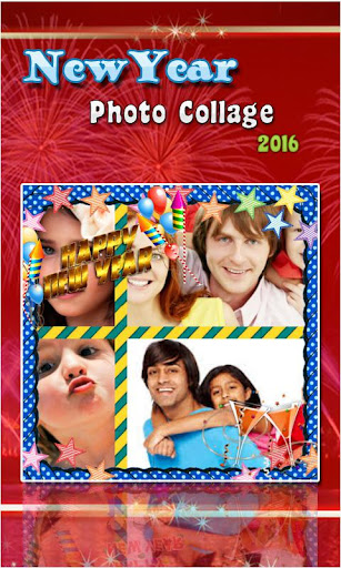 New Year Photo Collage