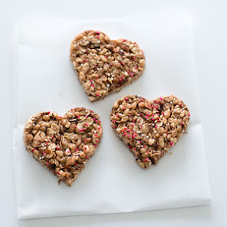 CHOCOLATE HEART GRANOLA BARS
