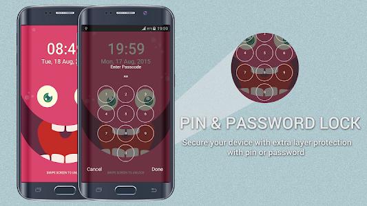 PokeMonster Go Pin Lock Screen screenshot 5