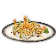 109. Crunch Jumbo Prawn Sushi Roll