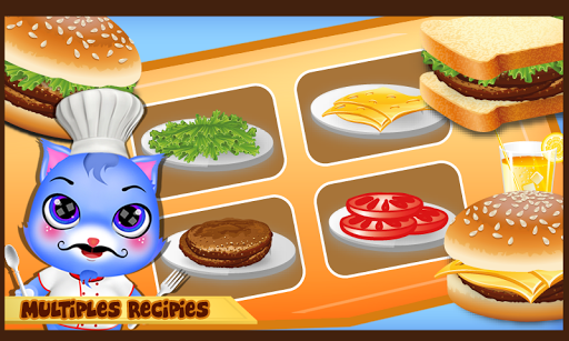 Yummy Pet chef_cooking game