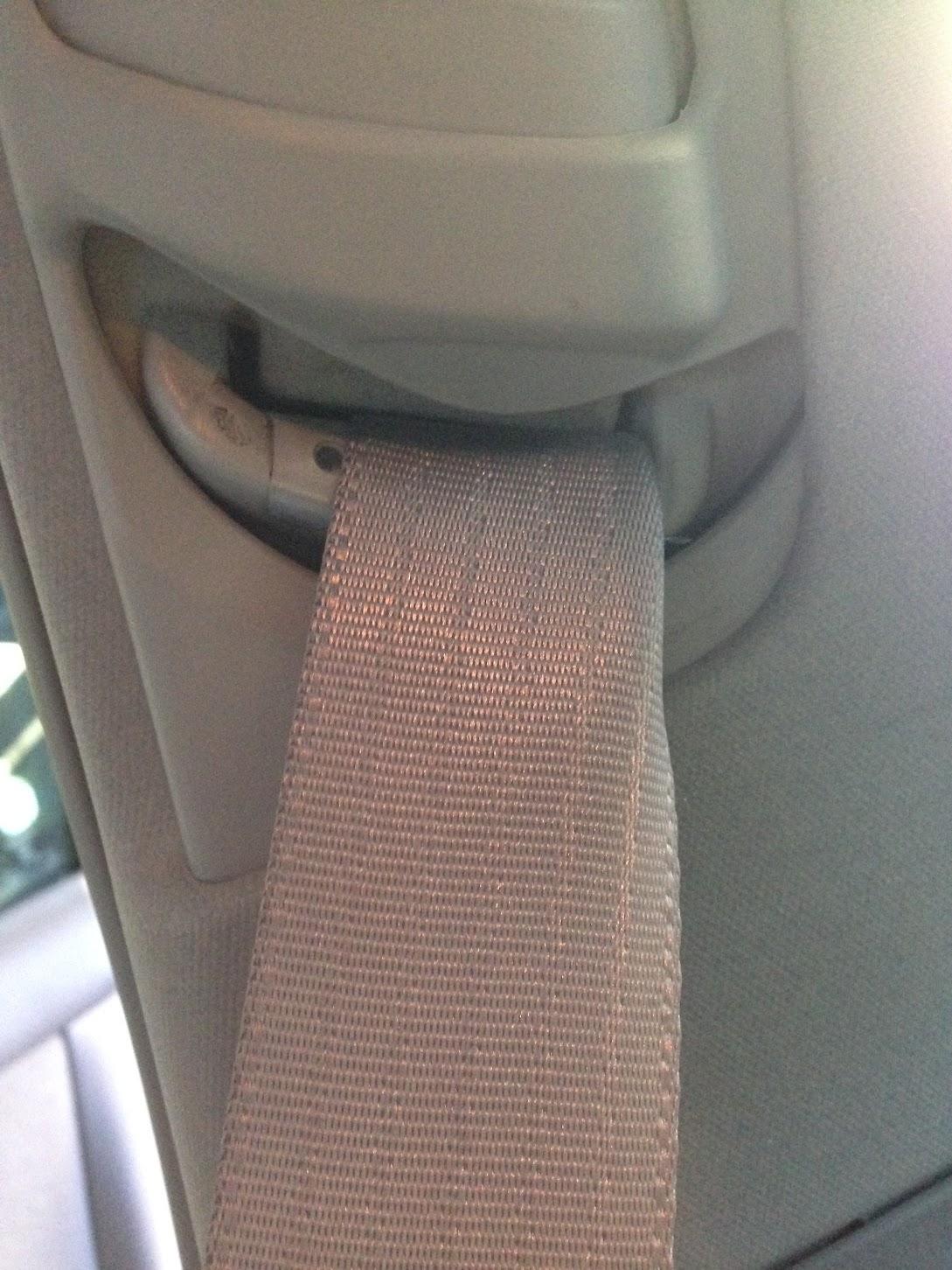 2006 Toyota Camry Passenger Seatbelt Twisted Internally Cartalk