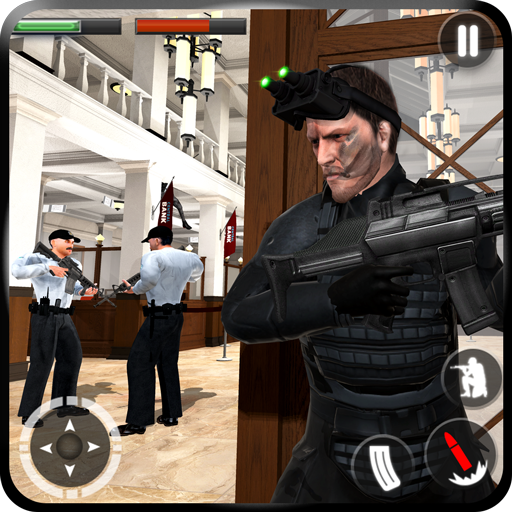 Secret Agent Spy Game Bank Robbery Stealth Mission