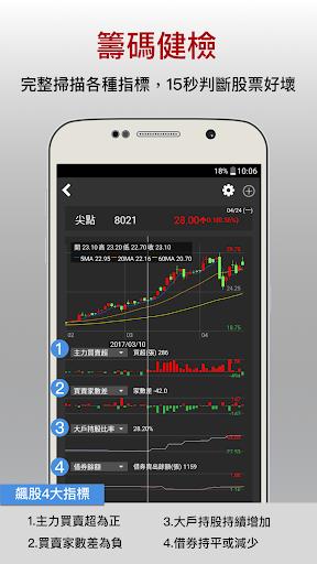 股市籌碼K線-跟著主力在股市賺錢 screenshot