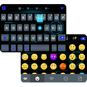 Transparent Emoji iKeyboard
