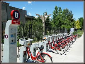 Photo: Bike Rentals, Botanic Gardens, Denver CO