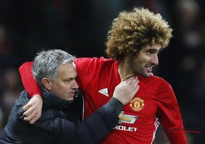 "Marouane Fellaini va-t-il prolonger à Manchester United? Mourinho se dit ""inquiet"""