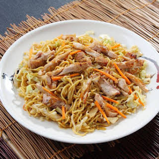 Crockpot Chicken Chow Mein.