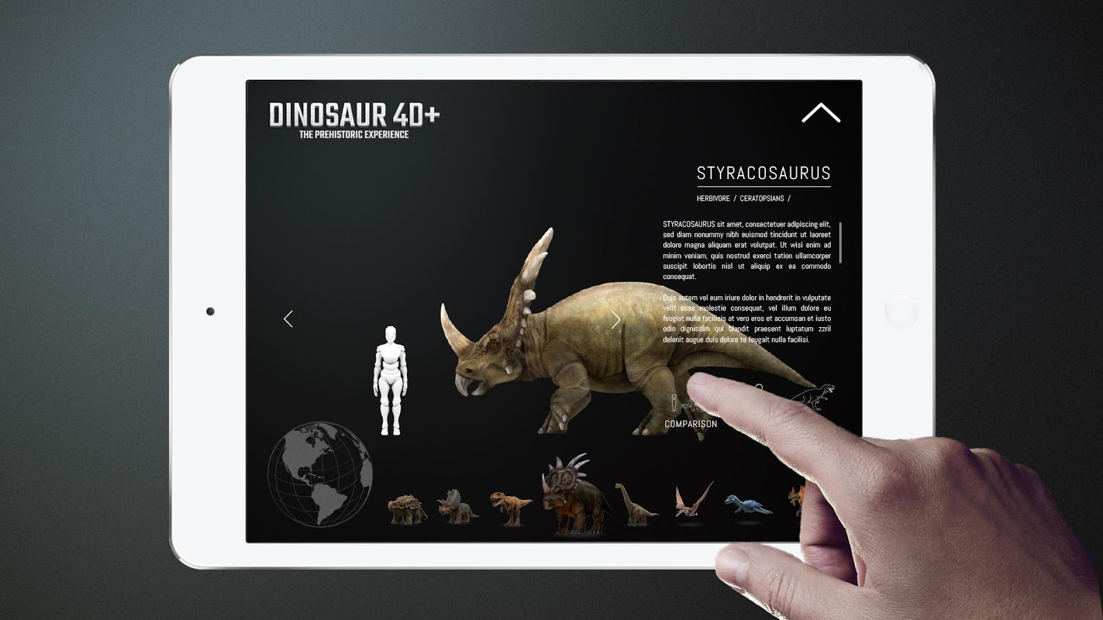 Dinosaur 4D+- screenshot