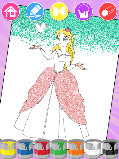 Princess Coloring Book u2764 apkdebit screenshots 1