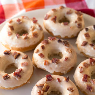 Maple Bacon Donuts.