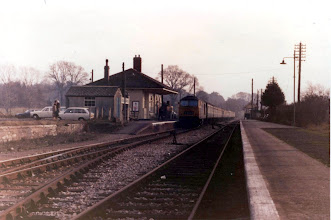Photo: Charlbury 2 weeks after singling of the line (Dec 1971)