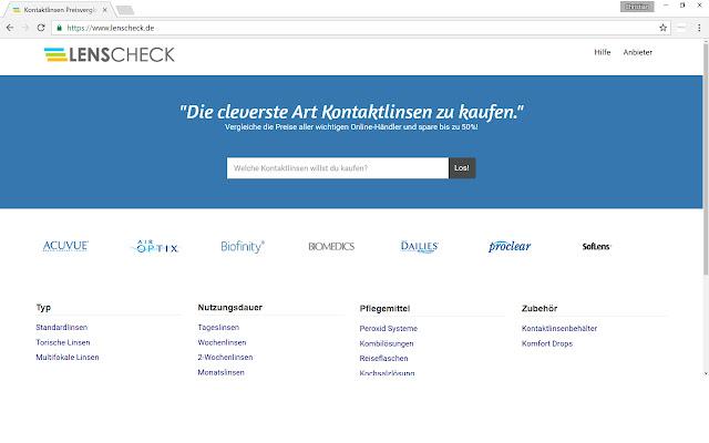 Kontaktlinsen Suche (Deutschland)