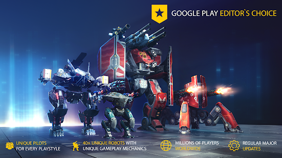 War Robots. 6v6 Tactical Multiplayer Battles Screenshot