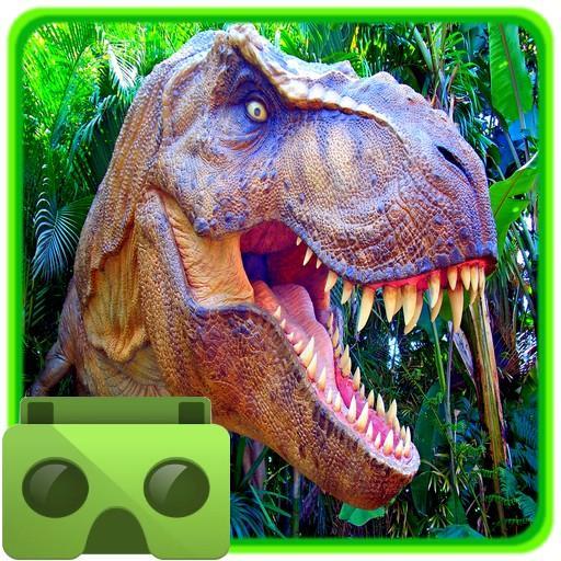 کھیل VR Time Machine Dinosaur Park (+ Cardboard) Android کے لئے