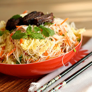 Tom's Favorite Vietnamese Noodle Salad.