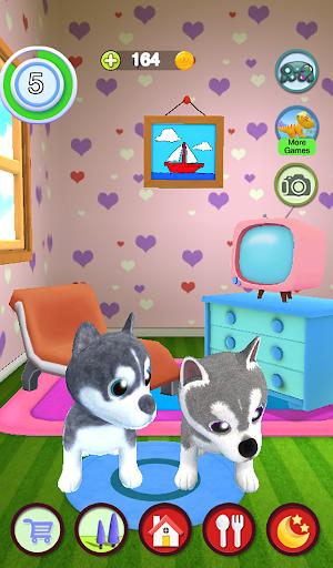 Talking Husky Dog 2.25 screenshots 24