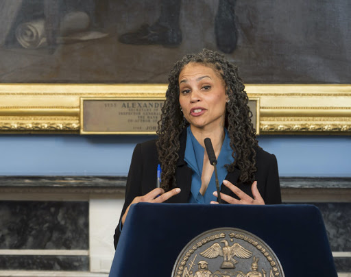Maya Wiley Defends Record as Chair of NYPD Oversight Board