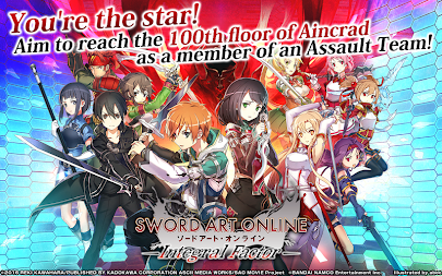 Sword Art Online: Integral Factor APK screenshot thumbnail 1