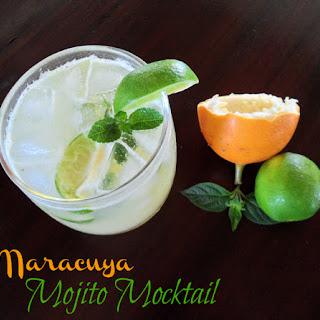 Maracuya Mojito Mocktail.