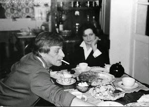 Photo: Виктор и Галина Некрасовы, Марлотт, 27.3.1975