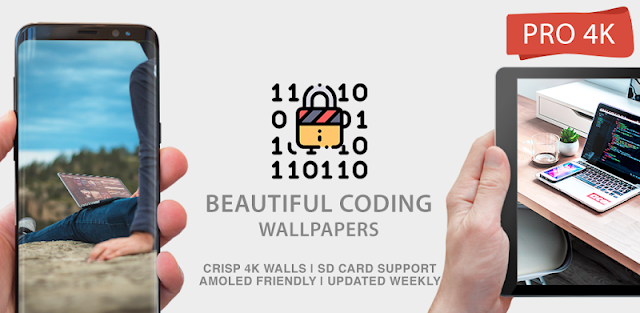Code Wallpapers 4K PRO Coding Backgrounds