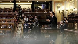 La investidura ha sido fallida en esta primera votación. Foto: Eduardo Parra