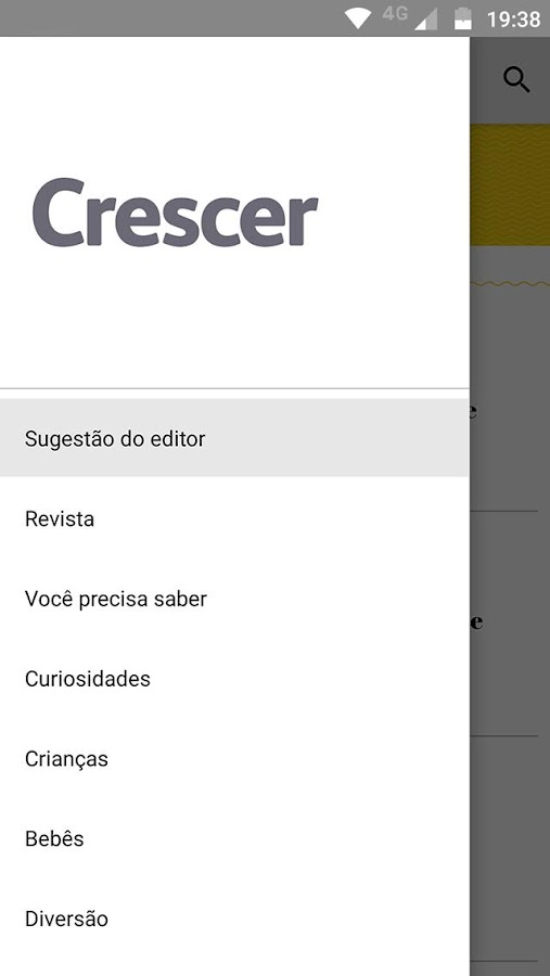 Revista Crescer- screenshot