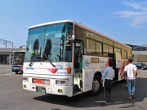 西日本鉄道「とよのくに号」スーパーノンストップ便 4015 大分要町到着