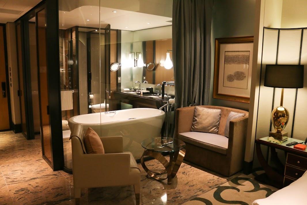 Living area at the MGM Macau