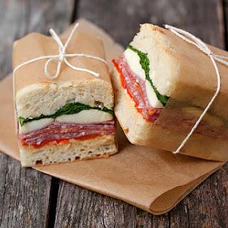 Pressed Italian Sandwiches.