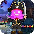 Best Escape Game  406 - Pirate Octopus Rescue Game