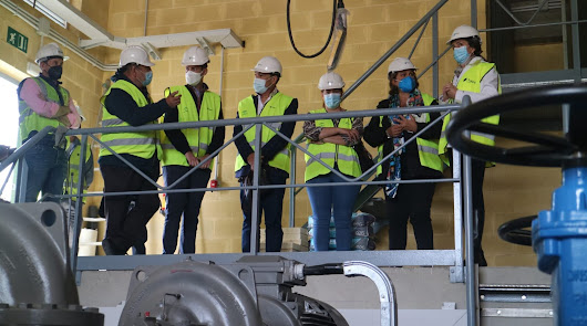 Las obras para el abastecimiento del Bajo Andarax siguen a buen ritmo