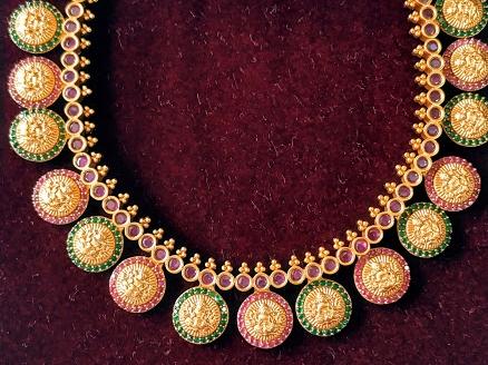 Sri Meenatchi (Gold Covering/Best covering Shop/Antique Jewellery