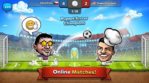 u26bd Puppet Soccer Champions u2013 League u2764ufe0fud83cudfc6 2.0.27 screenshots 2